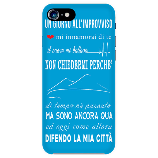 cover iphone 5s azzurra